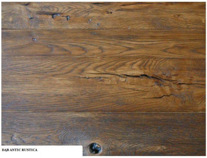 Deska dąb antic rustica 2
